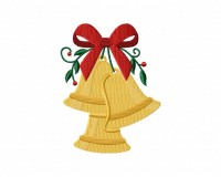 Christmas Golden Bells 5_5 inch