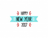 Happy 2017 Banner Stitched 5_5 Inch