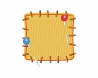 Yellow Patch 5_5 inch