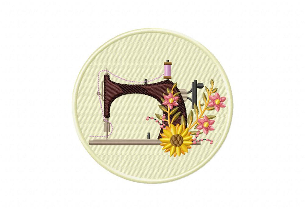 Antique Sewing Machine Embroidery Design Daily Embroidery