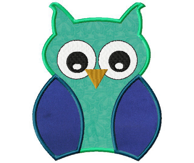 Free Machine Owl Applique – Daily Embroidery