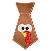 Small Turkey Tie Applique