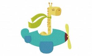GiraffeInPlane 5_5 Inch