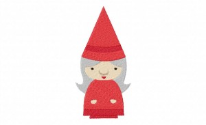 LadyGnomeStitched 5_5 Inch