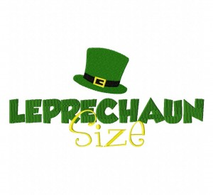 Leprechaun Size 6X10 Hoop