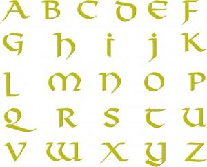 Viking Font Together