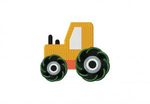 Construction Truck Stitched 5 Inch