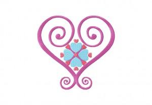 Satin Hearts 5_5 Inch