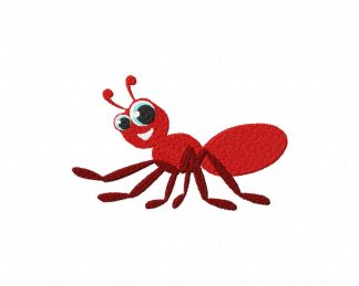 Ant Machine Embroidery Design