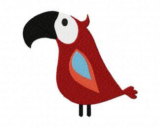 Silly Bird Machine Embroidery Design