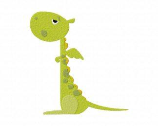 Cute Dragon Machine Embroidery Design