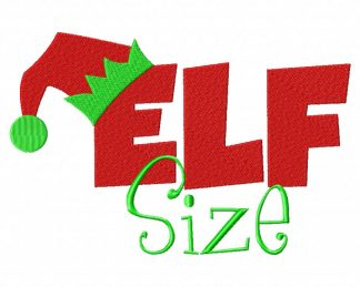 Elf Size Machine Embroidery Design