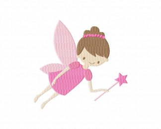 Magical Fairy Machine Embroidery Design