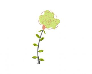 Fantastic Flower Machine Embroidery Design