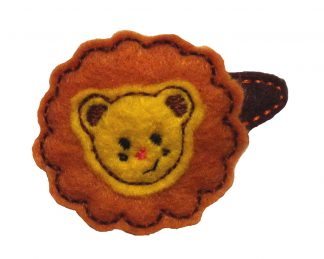 In The Hoop Lion Barrette Cover