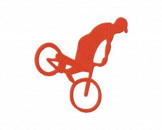 Freestyle Bike Machine Embroidery Design