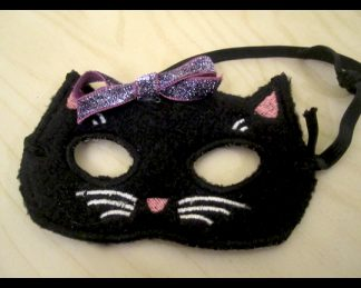 In The Hoop Kitty Mask