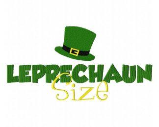 Leprechaun Size Machine Embroidery Design
