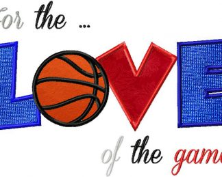 For the Love of the Game Basketball Version