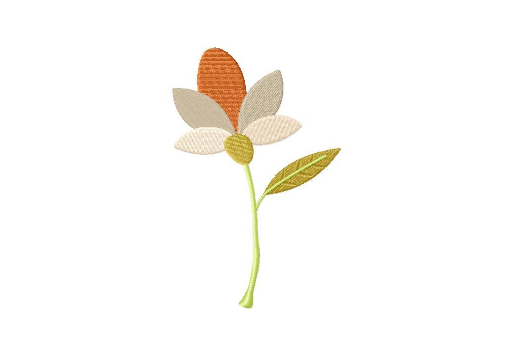 Pretty Plant Machine Embroidery Design