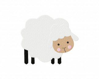 Sheep Machine Embroidery Design