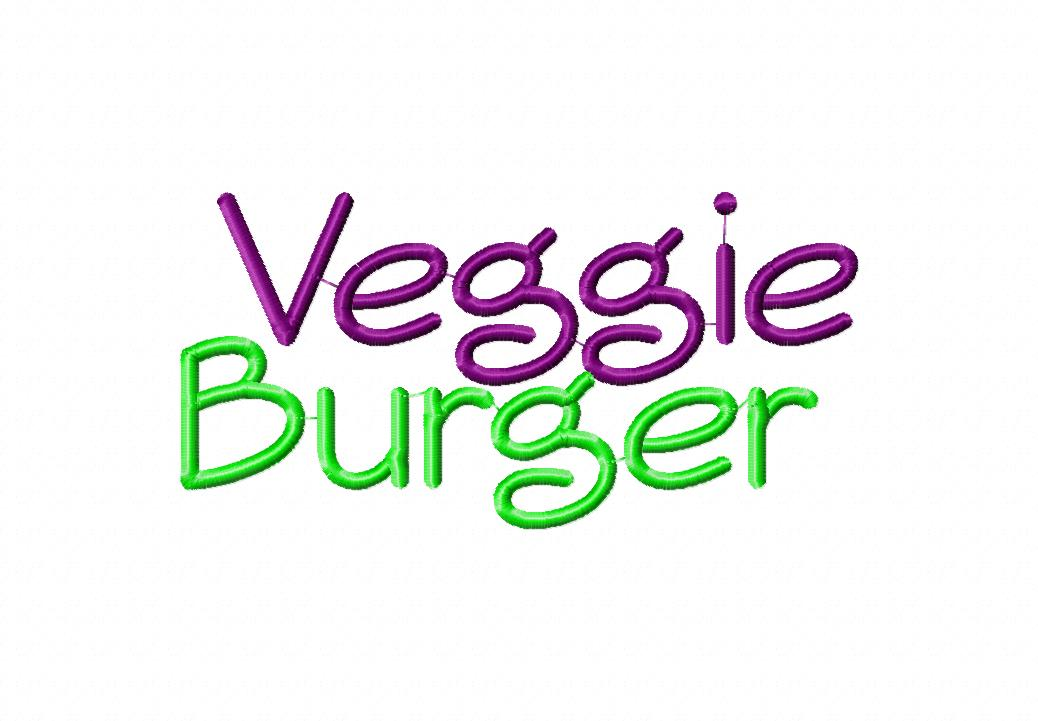 Veggie Burger Font Set