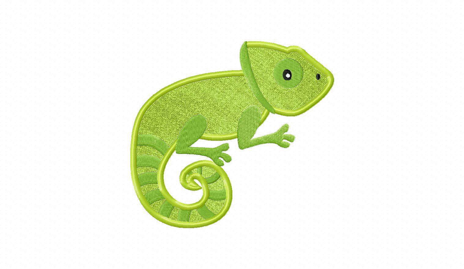 Chameleon Applique