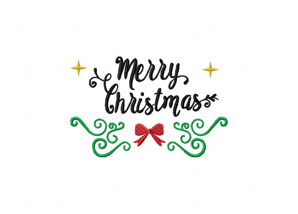 merry christmas black label embroidery design  u2013 daily
